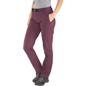 Black Diamond Alpine Pantaloni Donna, bordeaux